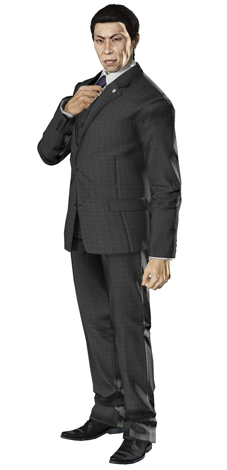 shadowrun; male; human; asian; suit; exec; dark-haired