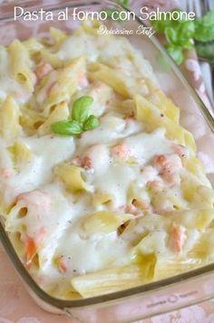 Pasta al forno con Salmone e Besciamella
