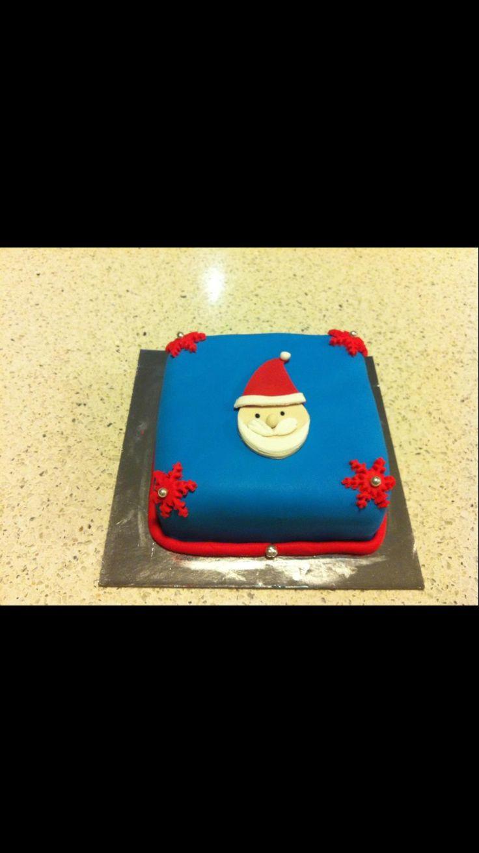 Mini x'mas cakes