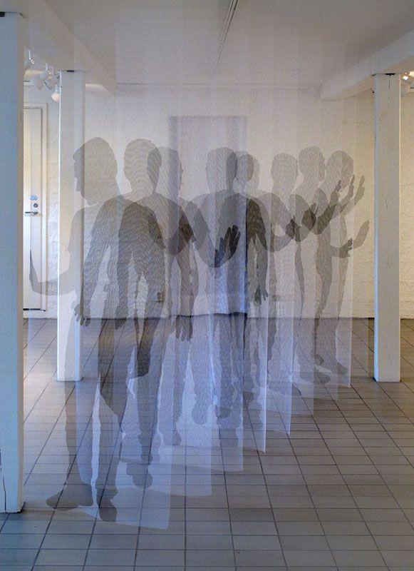 Time Mapping Installation Reveals Human Movement - My Modern Metropolis, Pia Mannikko, Deja-vu
