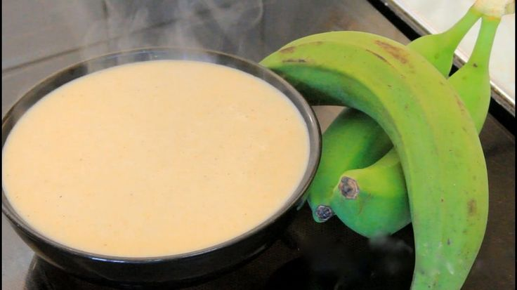 Jamaican Green Banana porridge Recipe via @ilovejamaicans