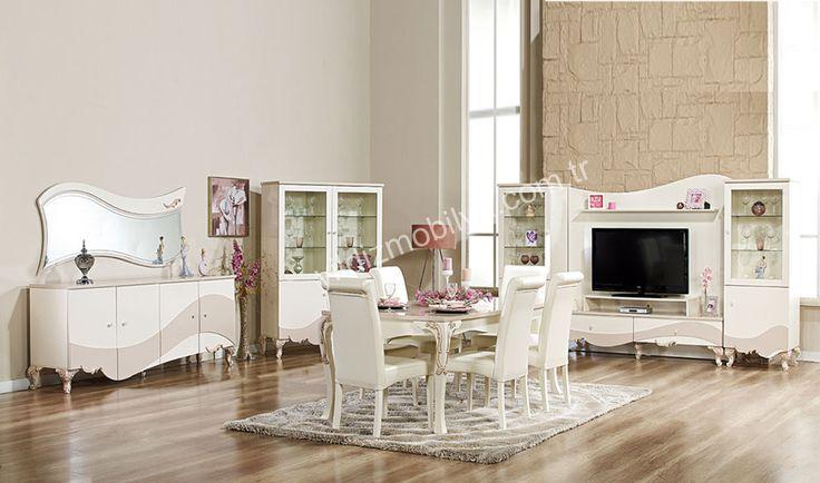 Kamelya Yemek Odası Hayalinizdeki Avangarde Çizgiye Sahip Modern Tasarımlı Ayrıcalıklı Bir Yemek Odasını Sizlerle Buluşturuyoruz http://www.yildizmobilya.com.tr/kamelya-yemek-odasi-pmu5473 #mobilya #avangarde #populer #kadın #home #ev #bedroom #pinterst http://www.yildizmobilya.com.tr/