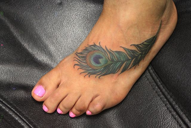 Small Peacock Tattoos | Recent Photos The Commons Getty Collection Galleries World Map App ...