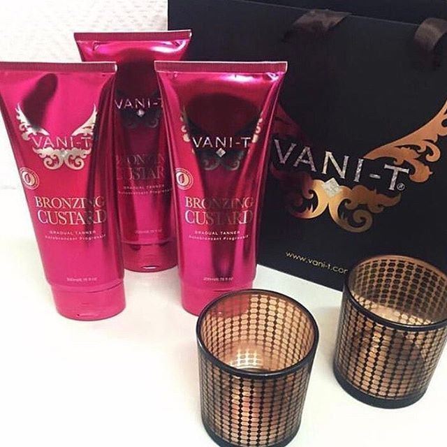 Bronze it up with VANI-T Luxury Bodywear Range Receive 15% off your fav tan with code BRONZEITUP - thanks to @carrosmotala @stockholmbeauty