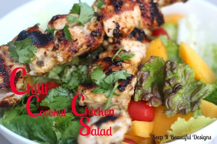 Chilli Coconut Chicken Salad!