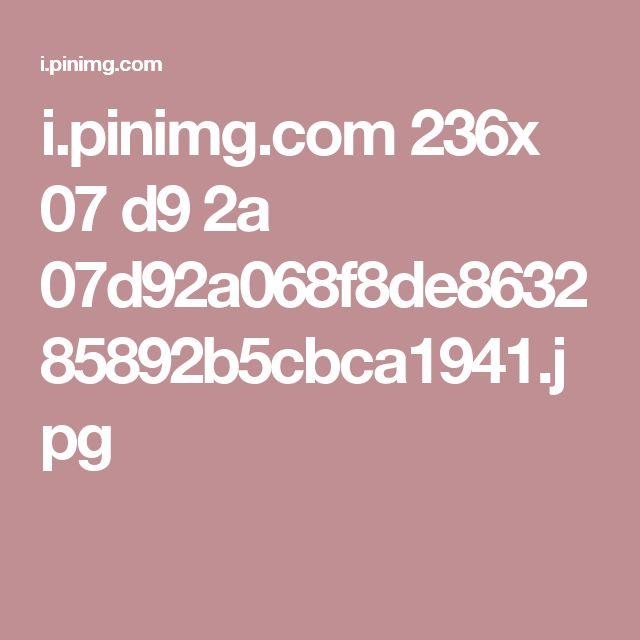 i.pinimg.com 236x 07 d9 2a 07d92a068f8de863285892b5cbca1941.jpg
