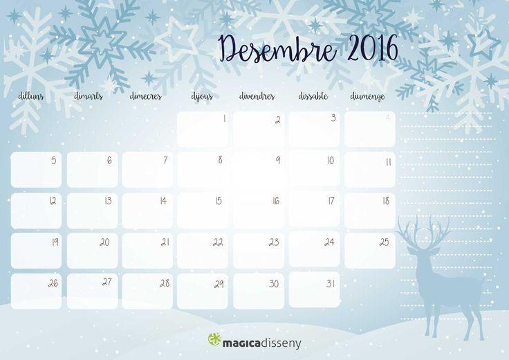 #calendari #desembre 2016