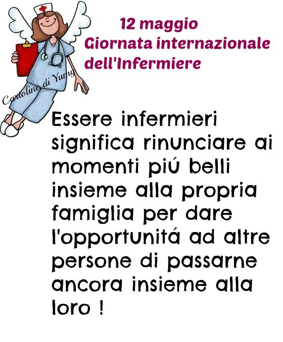 12 maggio: Giornata internazionale dell'Infermiere
