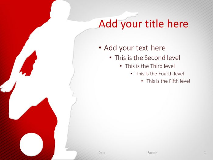 58 Best Sport Powerpoint Templates Images On Pinterest | Ppt