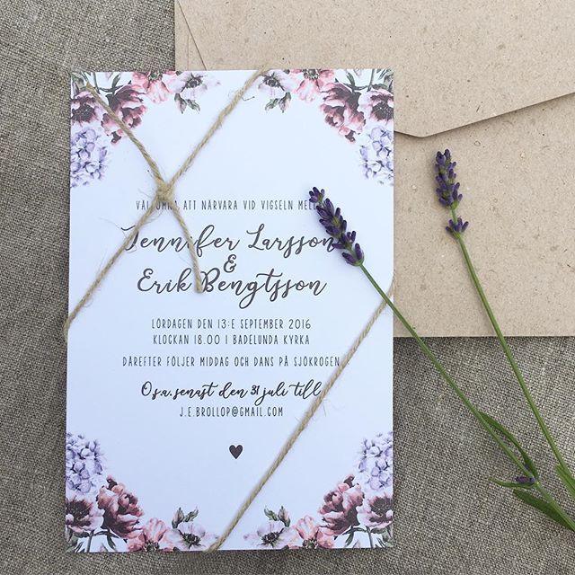 Inbjudningskort till bröllop eller fest. En ny bröllopsinbjudan #bröllopsinbjudan #invitation #inbjudningskort #bröllopsinspo #kvistpapper #pastell #akvarell #bröllopskort