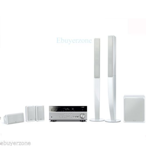 YHT598 Yamaha Home Cinema System Complete 5.1 speaker Package With AV Receiver | eBay