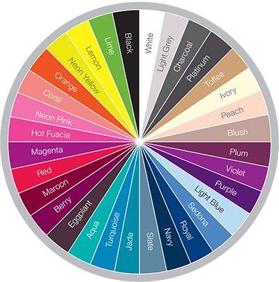 fuchsia color wheel - Google Search