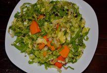 Endivie-Kürbis-Hanf-Salat mit Berberitzen – Vitaminpower für den Winter | Ohne Mist