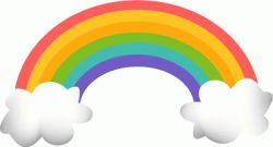 Rainbow clip art is so much fun! Rainbows are universal peace signs and they're also part of many folk tales and customs, so finding clip art...