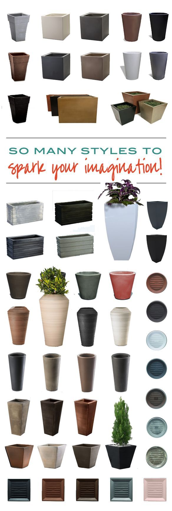 Don't get stuck in a design rut when you can discover the perfect planters and garden accessories to transform your indoor and outdoor space from boring to amazing. Find that perfect design element at urbilis.com/?utm_content=buffer408d9&utm_medium=social&utm_source=pinterest.com&utm_campaign=buffer…
