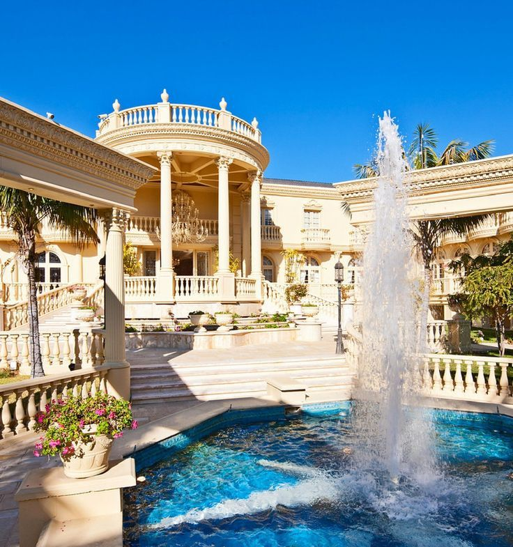 Beautiful Houses With Pools: 123 Best Dream Big! Images On Pinterest