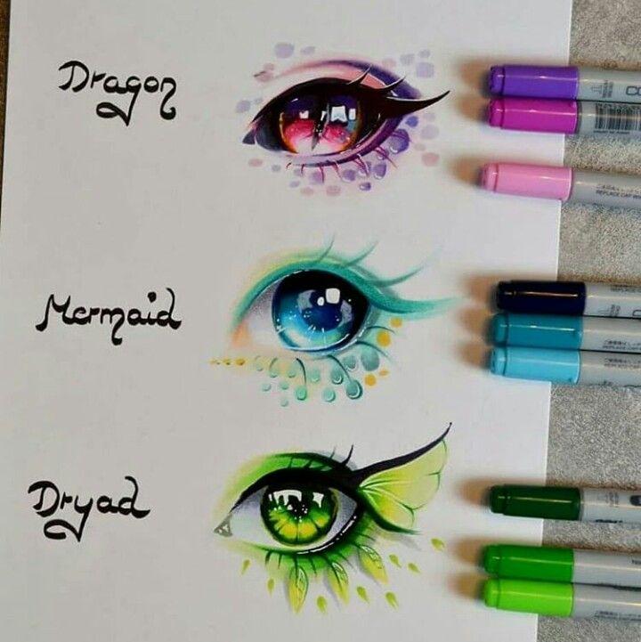 Augen mythologischer Wesen