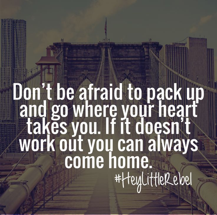 yep! or you can find home somewhere over the rainbow like me!