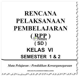 Download RPP PKN KTSP Kelas 1 2 3 4 5 6 Gratis 2016
