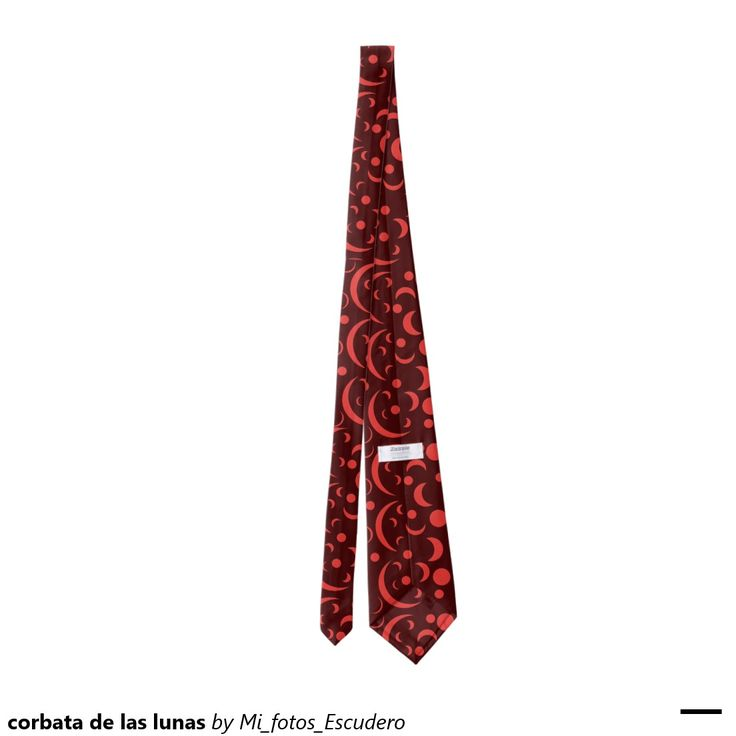 corbata de las lunas