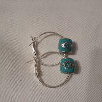 Evil Eye Earrings Price R120.00   #hamsahand #evileye #hamsa #bracelet #beads #earrings #onlinejewellery #jewellery #isaacsjewellery