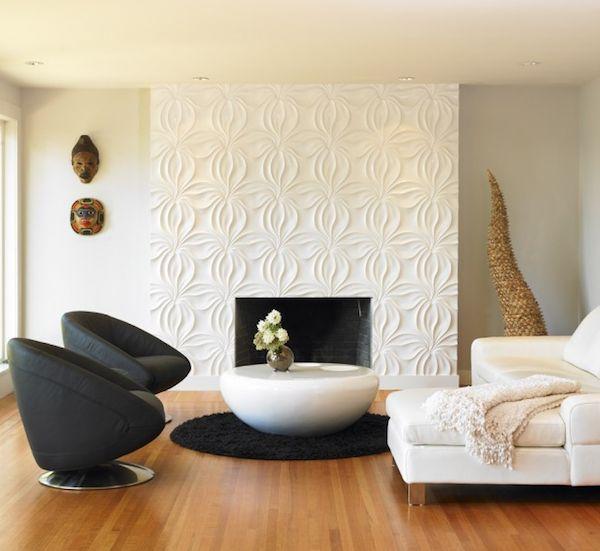 ceramic accent wall