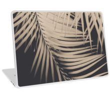 """Palm Leaves Sepia Vibes #1 #tropical #decor #art"" Laptop Skins by anitabellajantz 