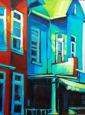 """Saatchi Online Artist jerzy  werbel; Painting, """"Kensington Market"""" #art"""