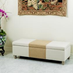 @Overstock - With soft fabric, a sturdy build, and a nicely padded top, you will have extra storage space and additional seating in any room with this Two-Toned Fabric Storage Ottoman.http://www.overstock.com/Home-Garden/Two-tone-Fabric-Storage-Ottoman/6436503/product.html?CID=214117 $189.99