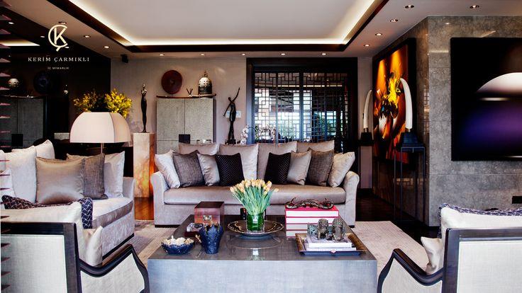 K.Ç. LİST İSTİNYE EVİ / 2013   Kerim Çarmıklı İç Mimarlık Ofisi   İç Mimari Proje#home#interior design#living room