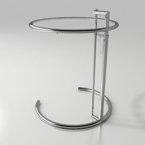3D Model Of Table Eileen Gray   3D Model