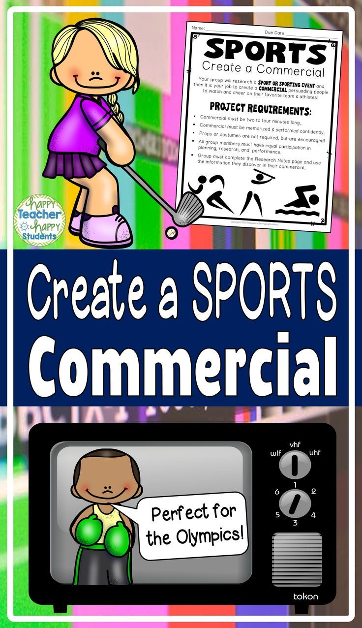 Create a Sports Commercial Skit: Perfect for a Winter