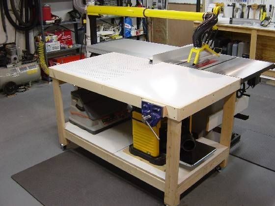Great Out Feed Downdraft Table Need Grooves For The Table