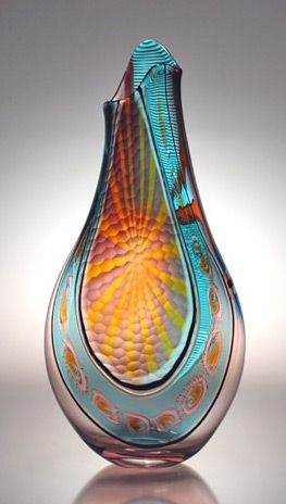 Art Glass Sculpture by Afro Celotto from Kela's...a glass gallery on Kauai