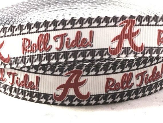 House Divided  Alabama vs Auburn Wedding Garter Toss Garter