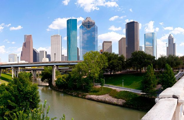 Because Houston's skyline majestically towers over the bayou. | 27 Reasons Living In Texas Ruins You For Life