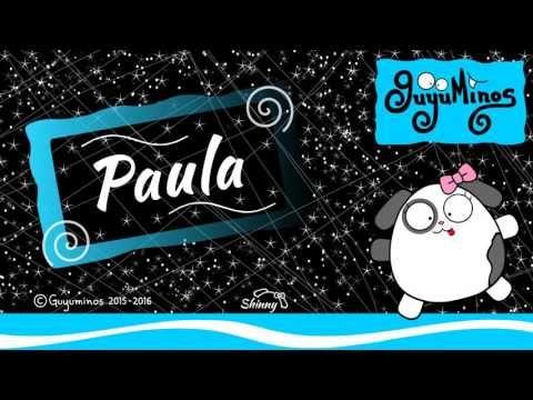 "Hola Paula... Tu Nombre al estilo Guyuminos! Sabías que Paula es la forma femenina de Paul, deriva del Latín Paulusque significa ""Pequeño"", ""Humilde"" Variantes: Paola, Pavla, Paule, Paulette. Diminutivo: Pauletta, Paulinha, Pavica, Pau. :D *Paula: Feminine form ofPaulus, which meant ""small"" or ""humble"" in Latin.#paula #nombres #significado #guyuminos"