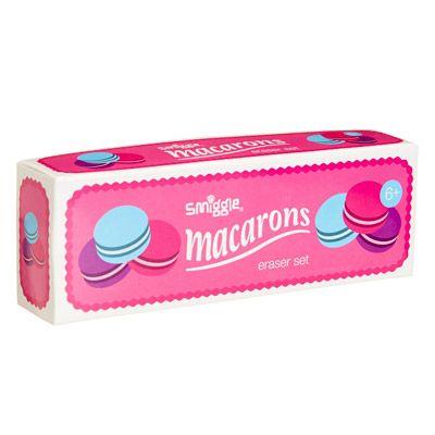 Macarons Eraser Box   Smiggle
