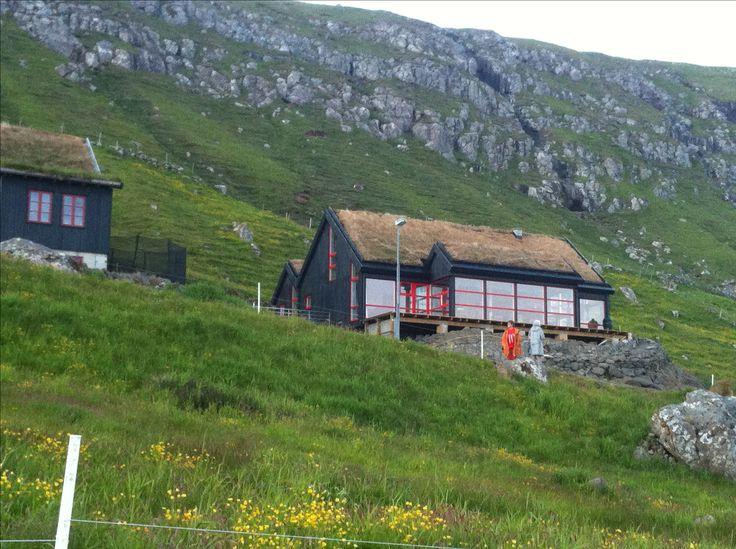 KOKS Restaurant. Kirkjubøur. Faroe Islands.