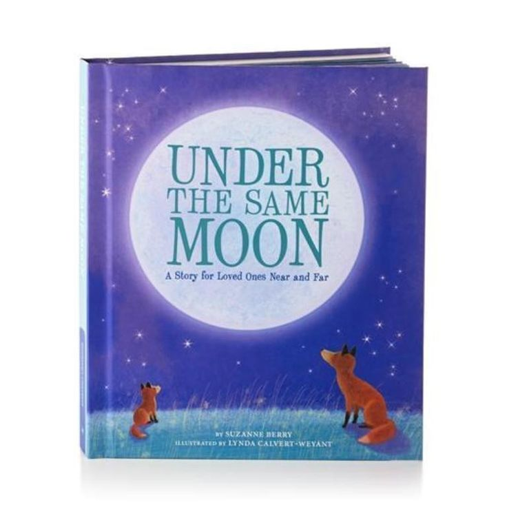 Miles may separate you from your little one, but no matter where you are, you're both looking up at the same moon. This beautifully illustrated Recordable Storybook will comfort them when they miss yo