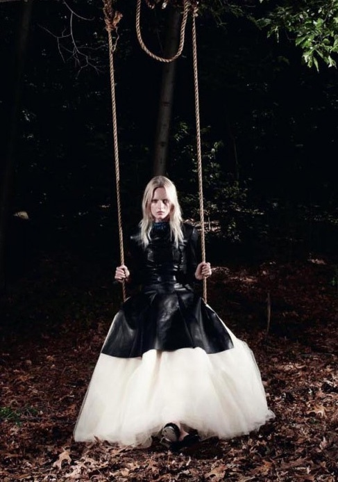 nocturnal moth catching by daniel jackson for love #8 fall/winter 12.13
