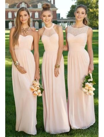 Elegant Chiffon Bruidsmeisjes Jurken