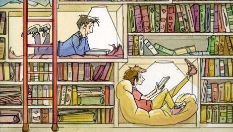 Lee a cualquier hora y en cualquier lugar. Leer recarga energía...