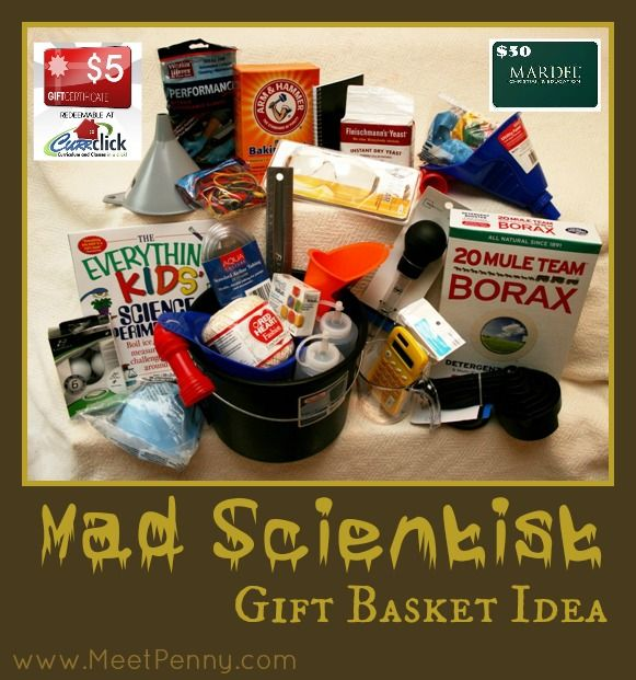 kid's gift - a homemade mad scientist's tool kit.