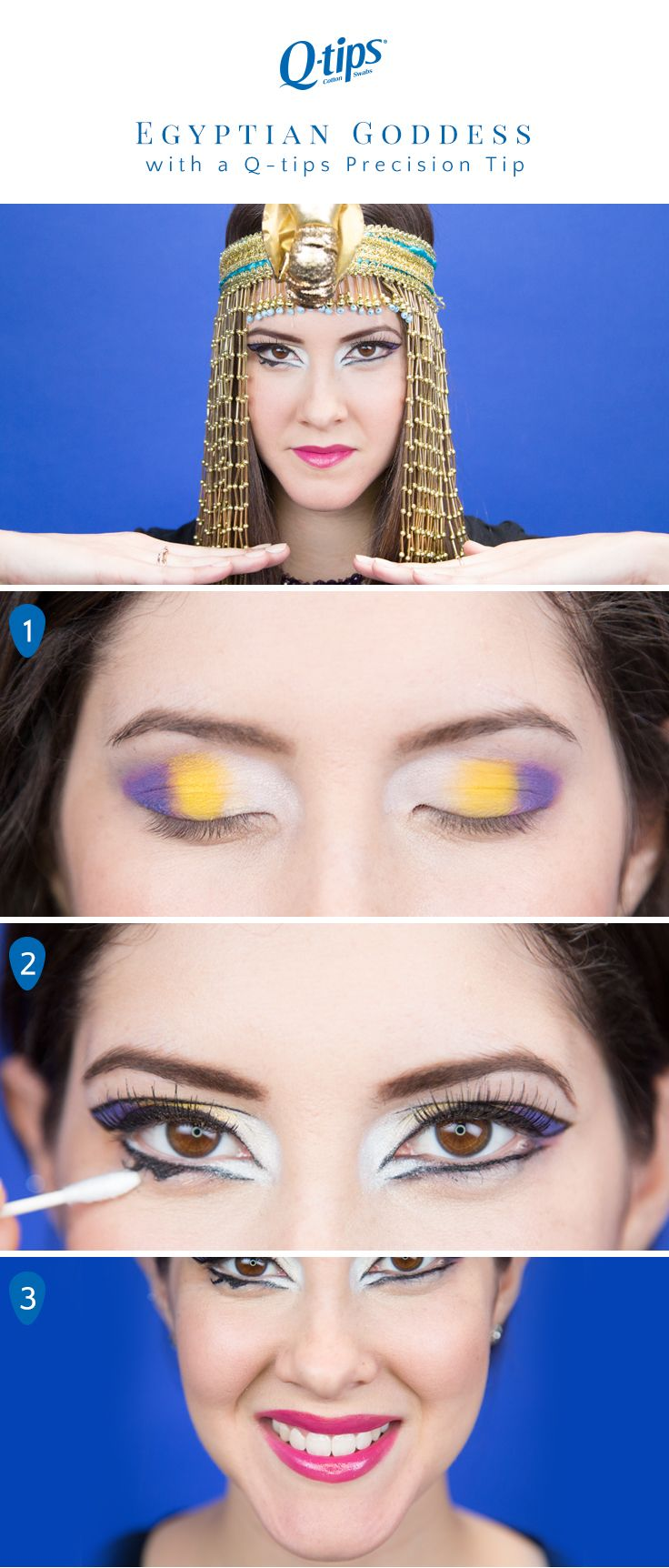 124 best beauty tips images on pinterest beauty tips count and so you wanna play with makeup try this easy how to 1 apply yellow shadow to the center of lid and purple shadow to the outer corners 2 ccuart Image collections