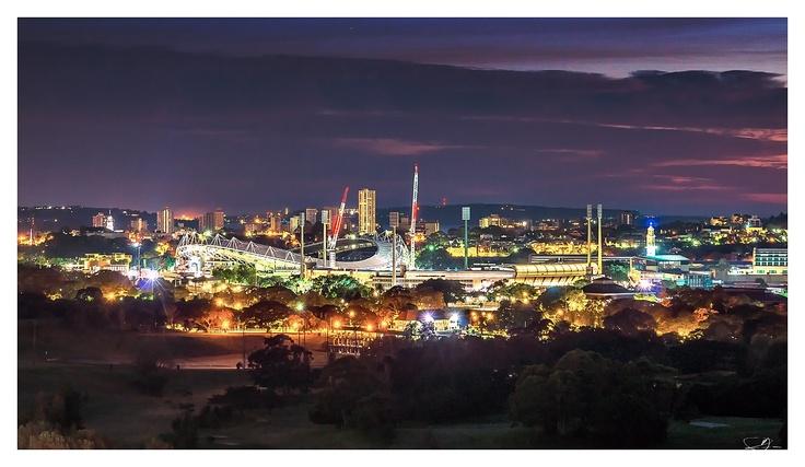 Sydney Football Stadium and Cricket Ground by mdomaradzki.deviantart.com on @deviantART