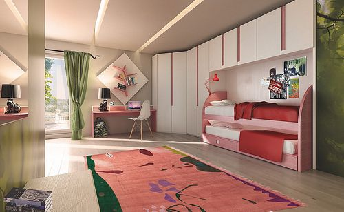 PLAY UP, the teenager room by MAZZALI. La cameretta