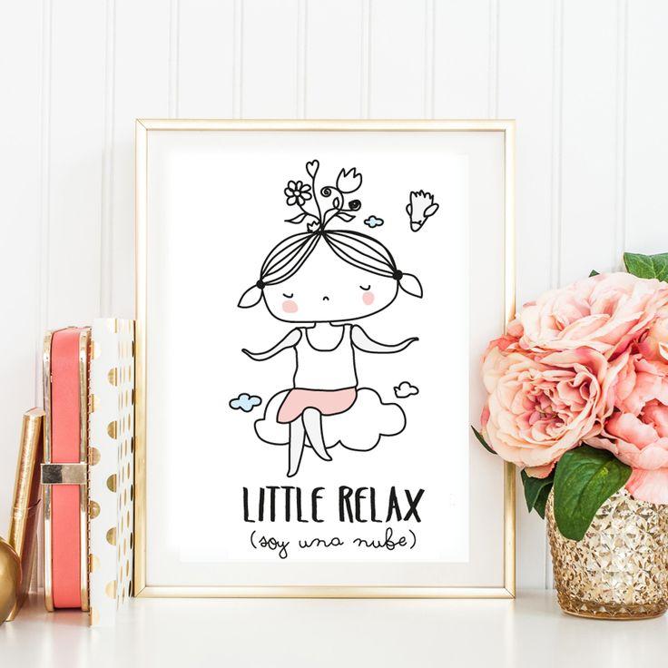 ¿Qué marco elegir para una lámina o un dibujo de los niños? #marcos #decor #relax #mujer