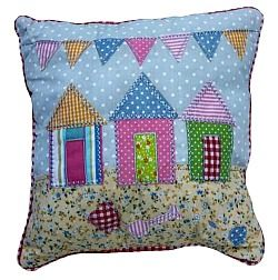 Pastel Beach House cushion $11 @ www.graceandlace.com.au