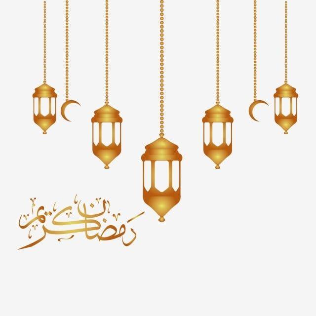 Ramadan Lantern Gold Ramadan Ramadan Kareem Ramadan Mubarak Png And Vector With Transparent Background For Free Download Idul Fitri